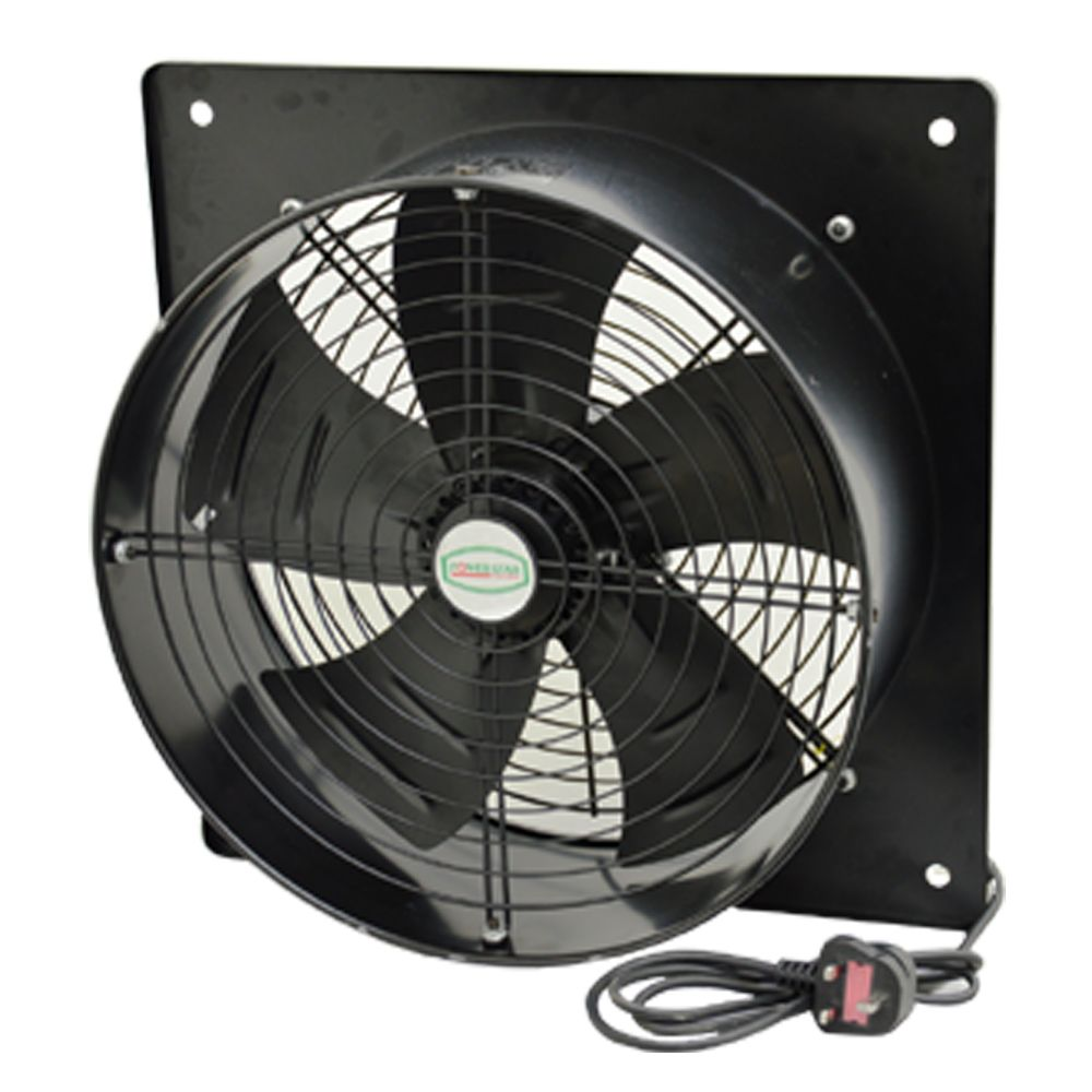 Industrial Extractor Exhaust Wall Mounted Plate Fan With Or Without Speed Controller 1064 P on air and cooling